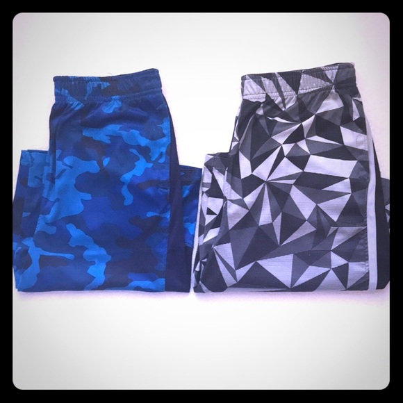 Russell Athletic Other - Boys Athletic Shorts/Blue Camo/Gray & Black